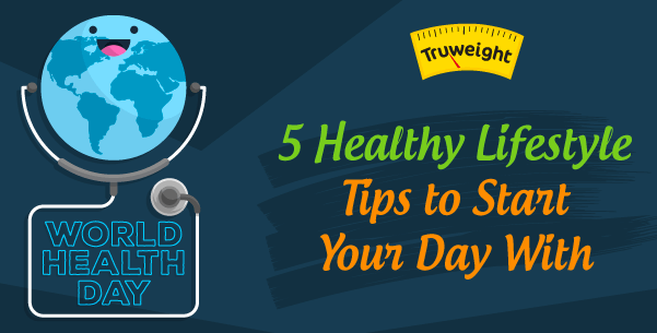 5 healthy lifestyle tips