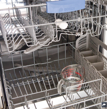 clean dishwasher naturally