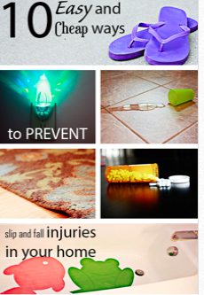 prevent slips and falls at home